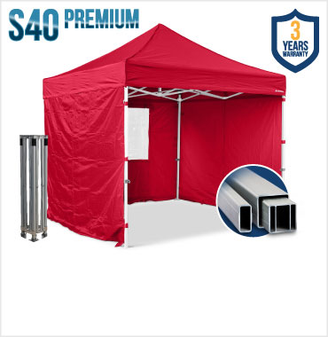 S40 Heavy Duty Gazebos