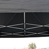 S30 Steel pop up gazebo roof