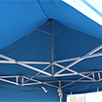 S50 Commercial Pop Up Gazebo roof